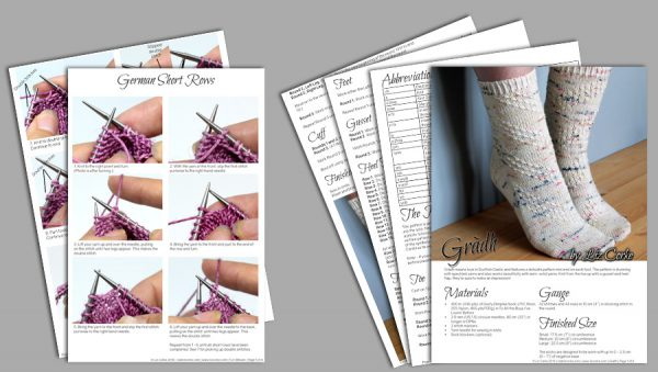 A spread of the pages in Gràdh