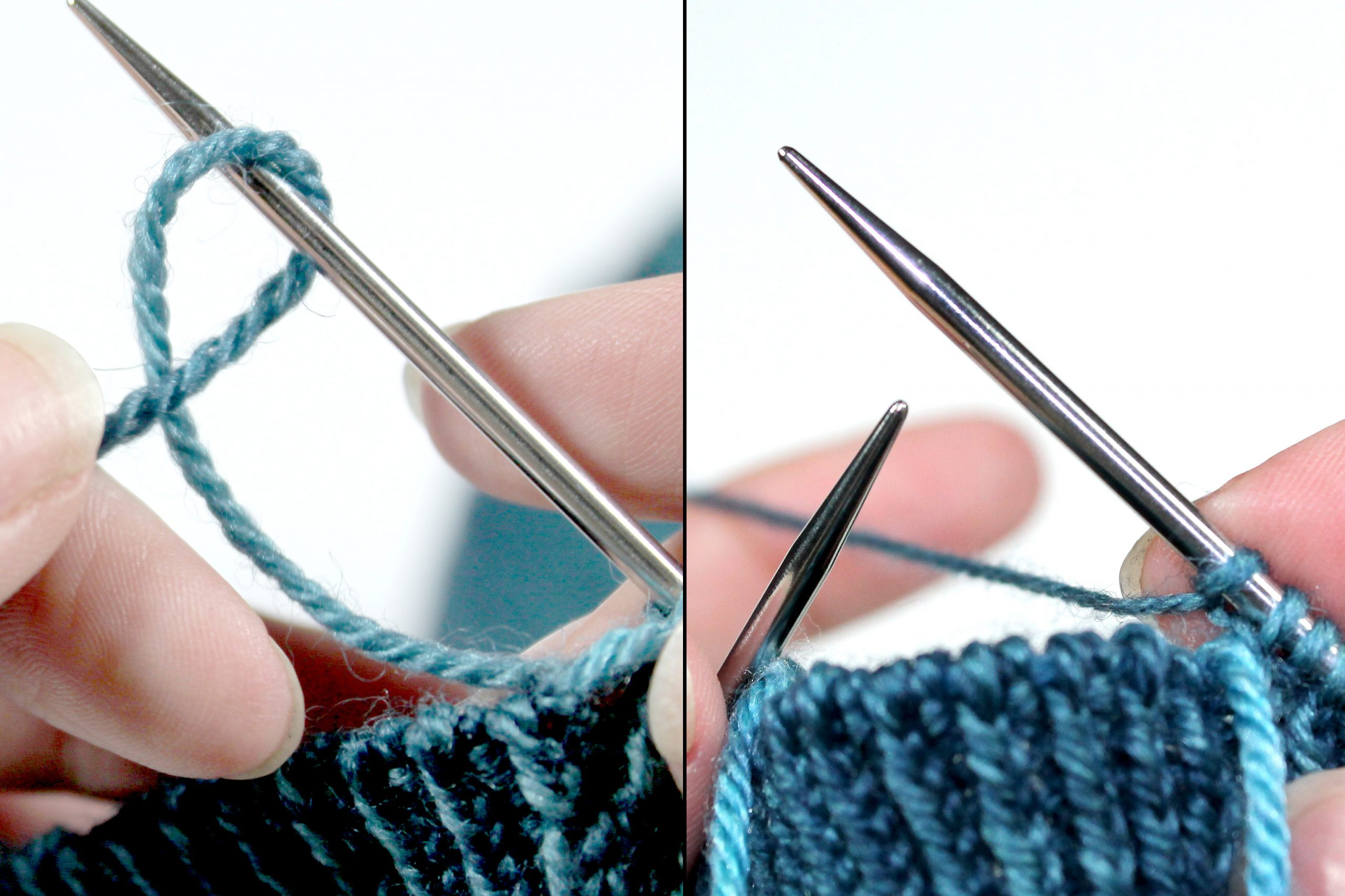 How to work a backwards loop cast-on