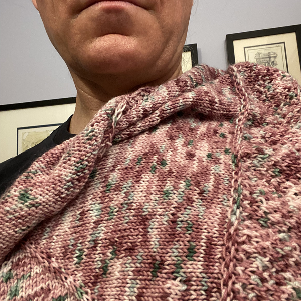 CashmanCreates knit his Cìr-Mheala in Fibre Art Studio on Granville Island Basic Sock