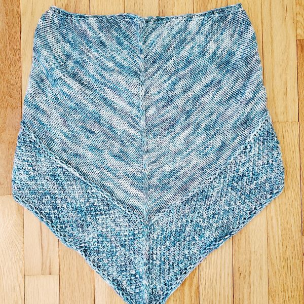 Karenkk13 knit her Mealach in Daisy Stitch Co Texas Strong Fingering in Frosted Fir