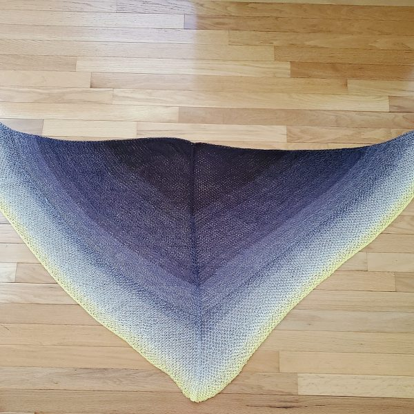 Karenkk13 knit her Cìr-Mheala in Scheepjes Whirl in Dandelion Munchies