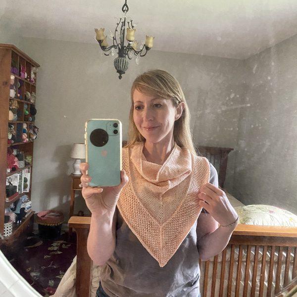 Spevygirl knit her Mealach in Lofty Loops Sock